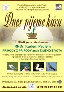 Plakát 5 s RNDr.Karlem Peclem